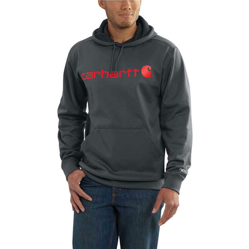 Carhartt Force Extremes™ Signature Graphic Hooded Sweatshirt - 102314 - CLOSEOUT