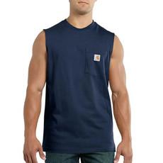 Carhartt 100374 - Relaxed Fit Heavyweight Sleeveless Pocket T-Shirt