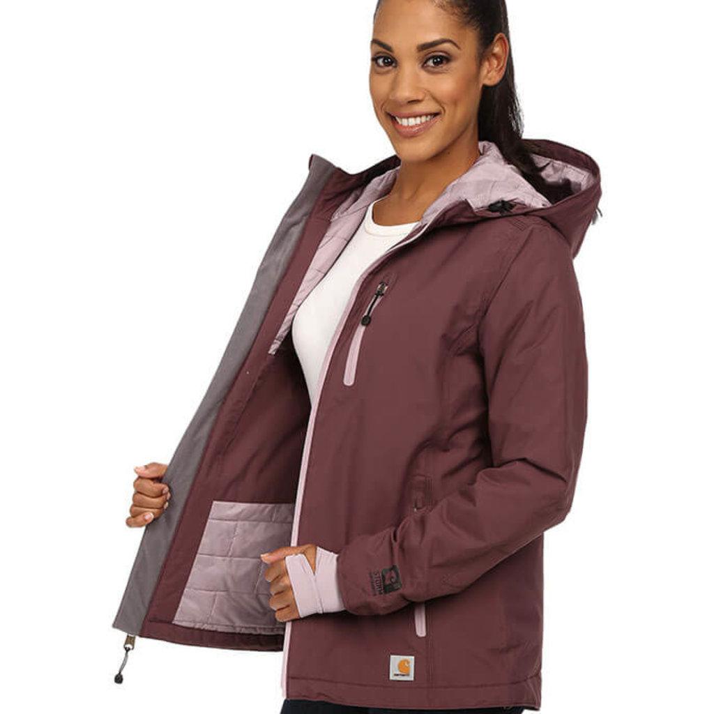 Carhartt Women's Elmira Jacket - Quilt Lined - 101766 - CLOSEOUT