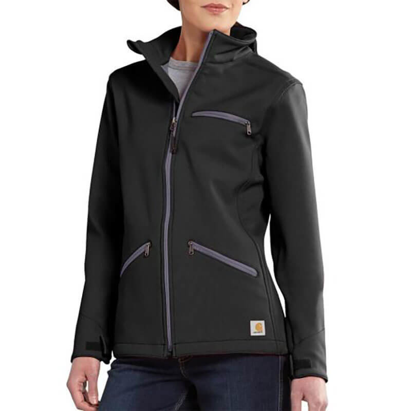 Carhartt Women's Crowley Soft Shell Jacket - 101486 - CLOSEOUT