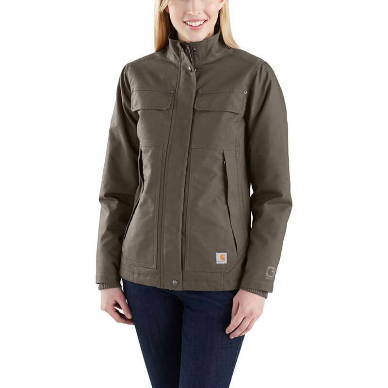 Carhartt Women's Quick Duck Jefferson Traditional Jacket - 103385 - CLOSEOUT