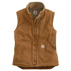 Carhartt Carhartt Women's Sandstone Mock Neck Vest - WV001 - CLOSEOUT