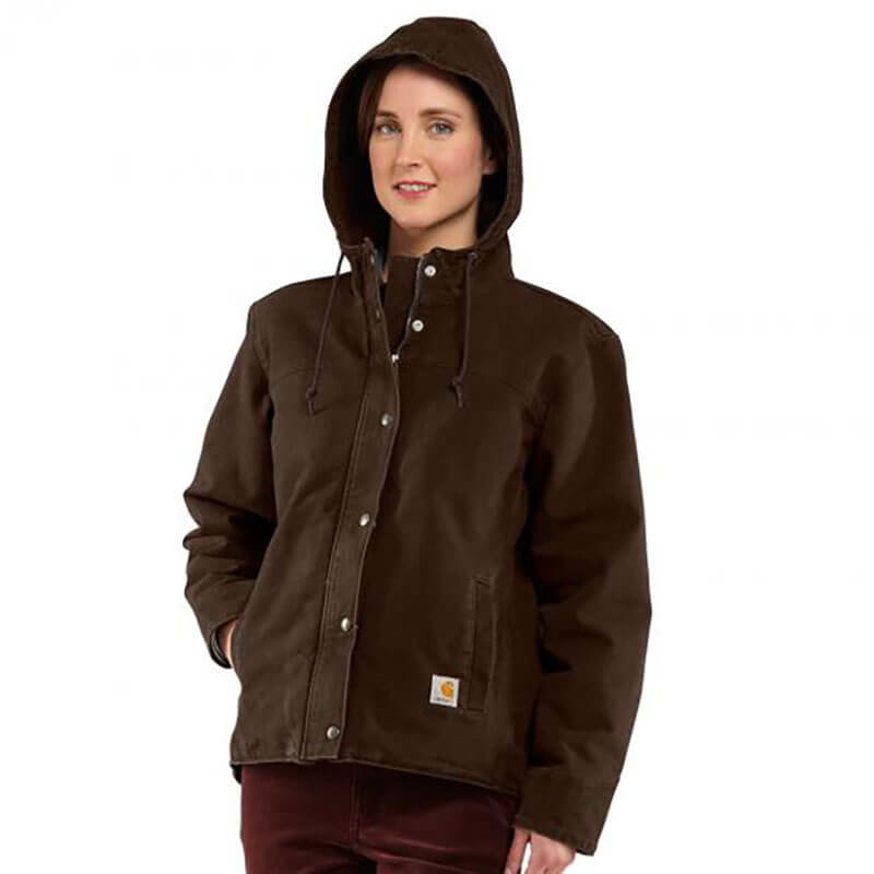 Carhartt Women's Sandstone Berkley Jacket - 100657 - CLOSEOUT