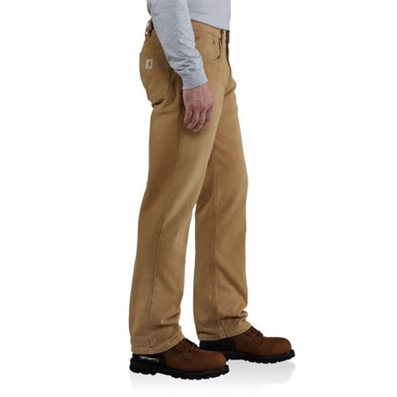 Carhartt Weathered Duck 5-Pocket Relaxed Fit Pant- 100096 -CLOSEOUT