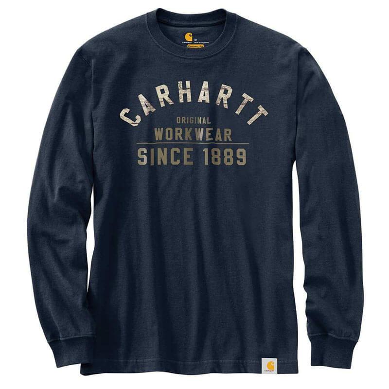 Carhartt Original Workwear Graphic Long Sleeve T-Shirt 103839 - CLOSEOUT