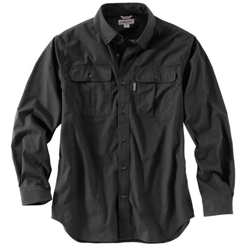 Carhartt Foreman Solid Long Sleeve Work Shirt - 101554 - CLOSEOUT