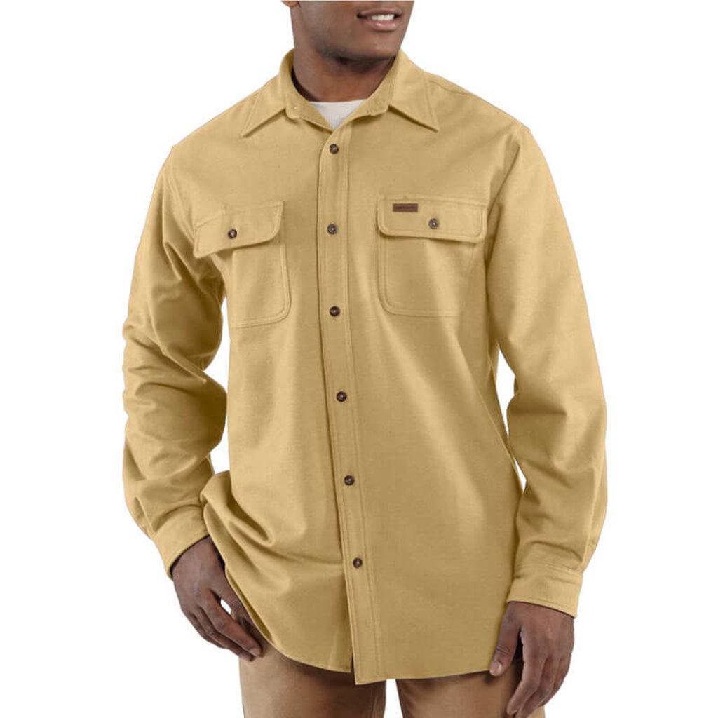 Carhartt Carhartt Mens Chamois Long Sleeve Shirt - 100080 - CLOSEOUT