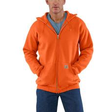 Carhartt Loose Fit Midweight Front-Zip Sweatshirt - K122 - CLOSEOUT