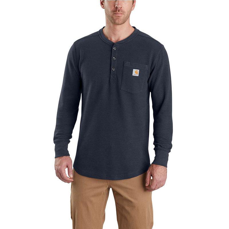 Carhartt Men's Long Sleeve Tilden Henley - 103398 - CLOSEOUT