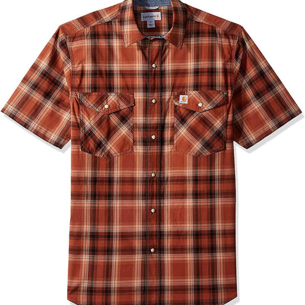 Carhartt Carhartt Men's Rugged Flex Bozeman Short Sleeve Shirt - 103552 - CLOSEOUT