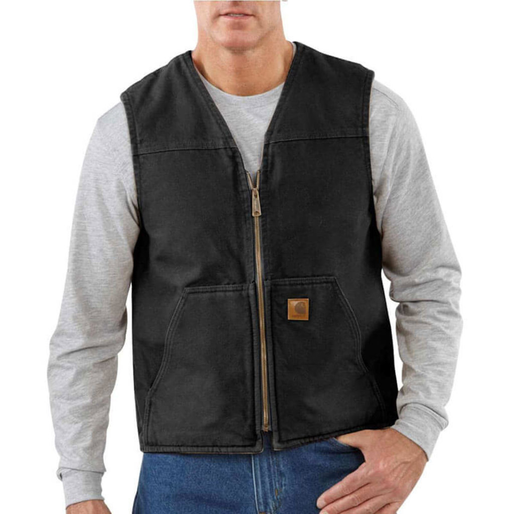 Carhartt Carhartt Men's Rugged Vest Sandstone - V26 - CLOSEOUT