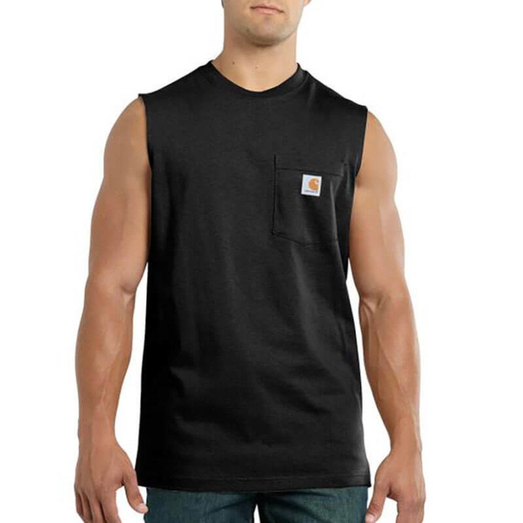 Carhartt Carhartt Men's Workwear Pocket Sleeveless T-Shirt - 100374-CLOSEOUT