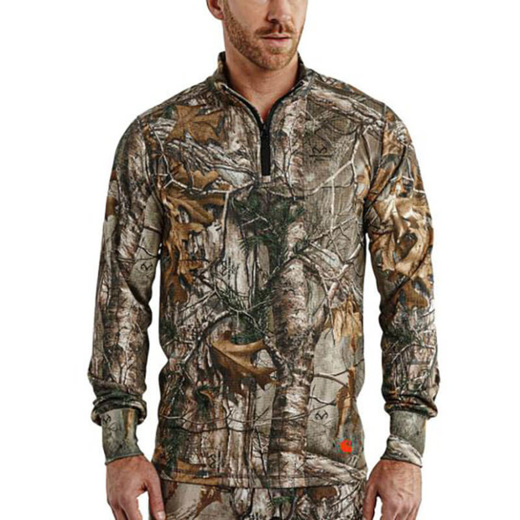 Carhartt Carhartt Men's Base Force Extremes Cold Weather Camo Quarter Zip 102224