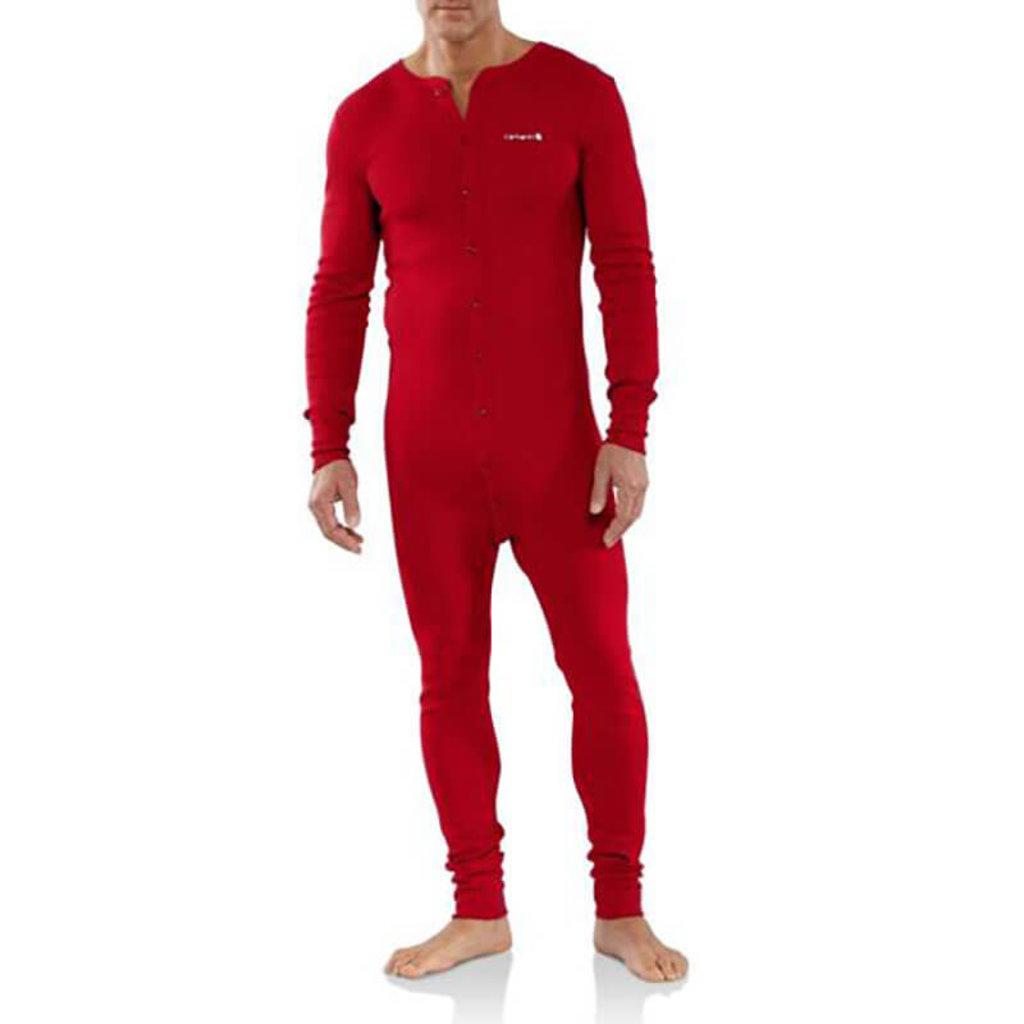 Carhartt Carhartt K226 - Midweight Cotton Union Suit- CLOSEOUT