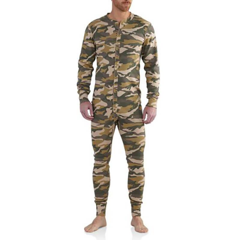 Carhartt K226 - Midweight Cotton Union Suit- CLOSEOUT