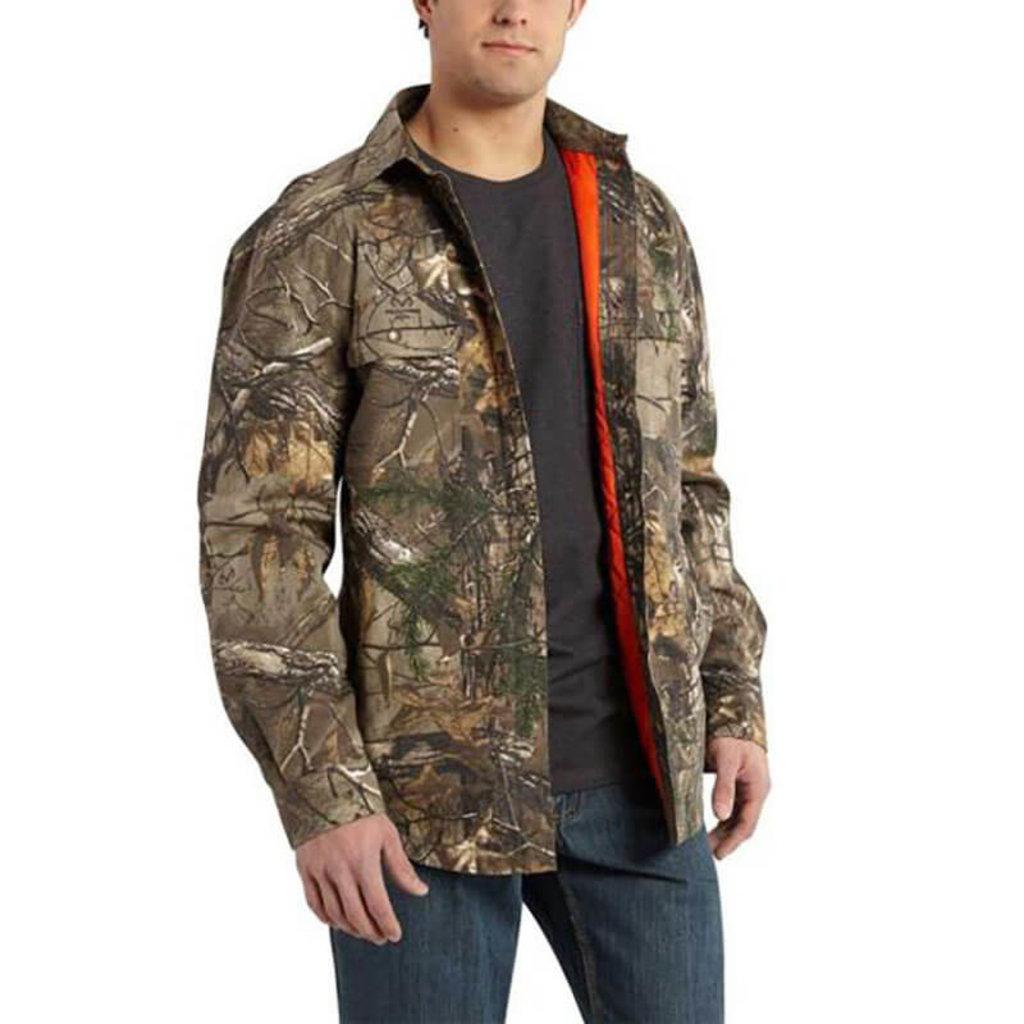 Carhartt Wexford Canvas Camo Shirt Jac 101462 - CLOSEOUT