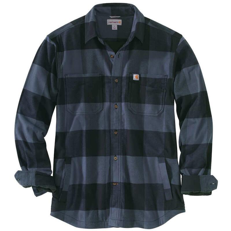 Carhartt Carhartt Rugged Flex® Hamilton Fleece Lined Plaid Long Sleeve Shirt 103315 - CLOSEOUT