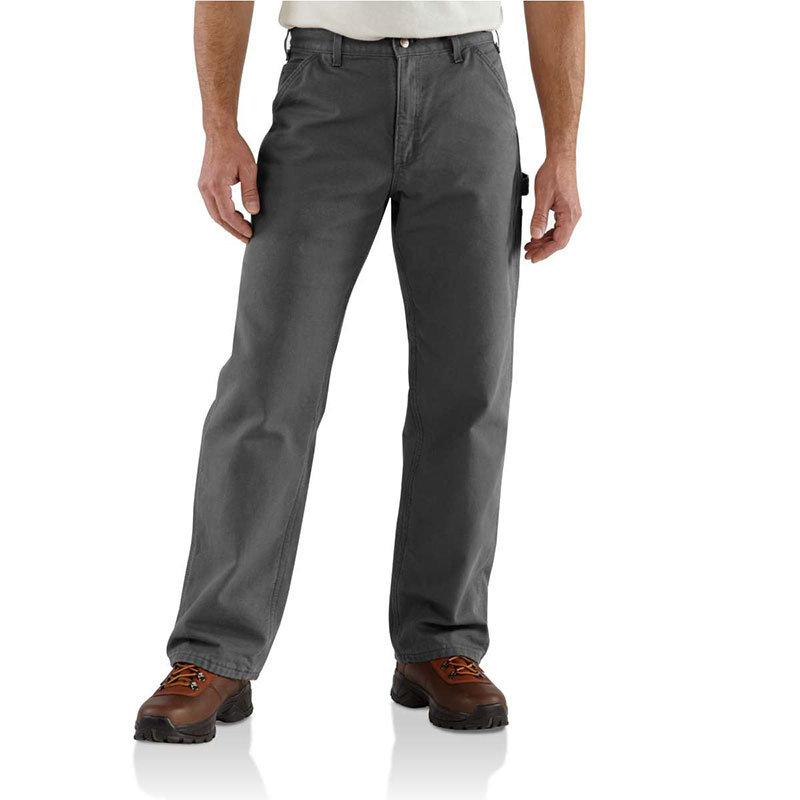 Carhartt B111 - Loose Fit Washed Duck Flannel Lined Work Pant-CLOSEOUT