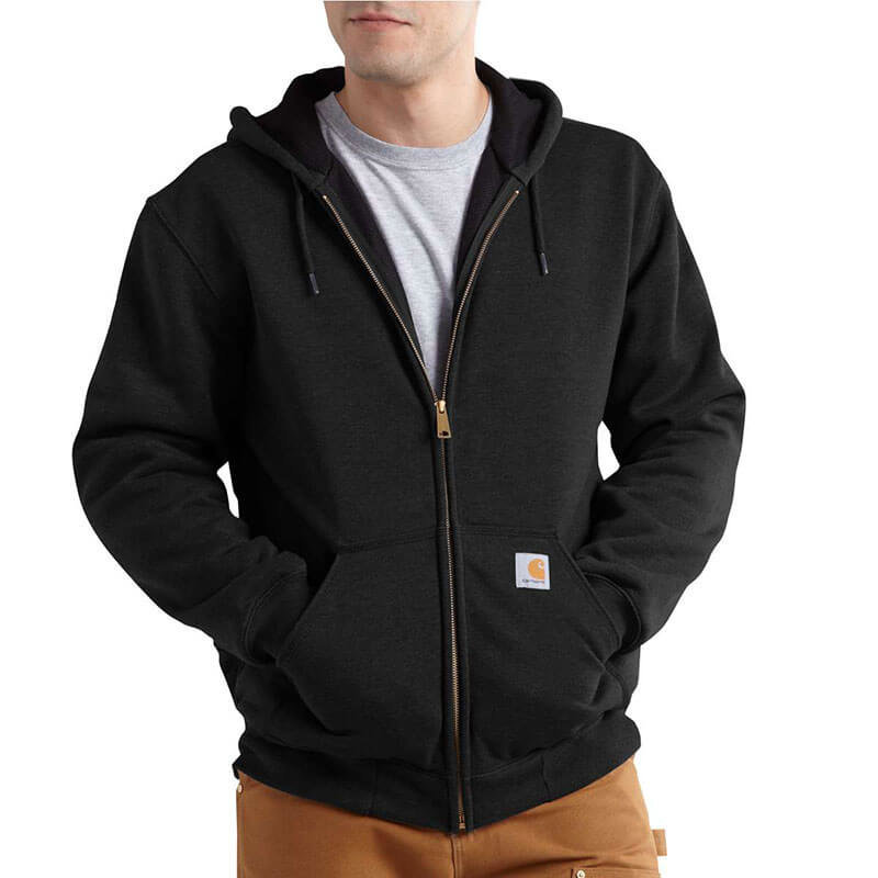 Carhartt Rutland Thermal Lined Zip Front Hooded Sweatshirt 100632 - CLOSEOUT