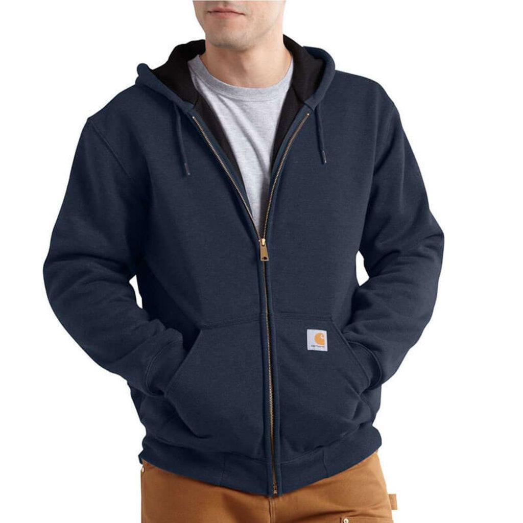 Carhartt Carhartt Rutland Thermal Lined Zip Front Hooded Sweatshirt 100632 - CLOSEOUT