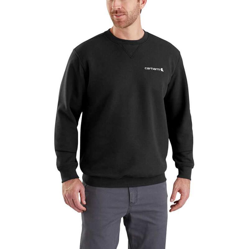 Carhartt Men's Midweight Graphic Crewneck Sweatshirt - 103307 - CLOSEOUT