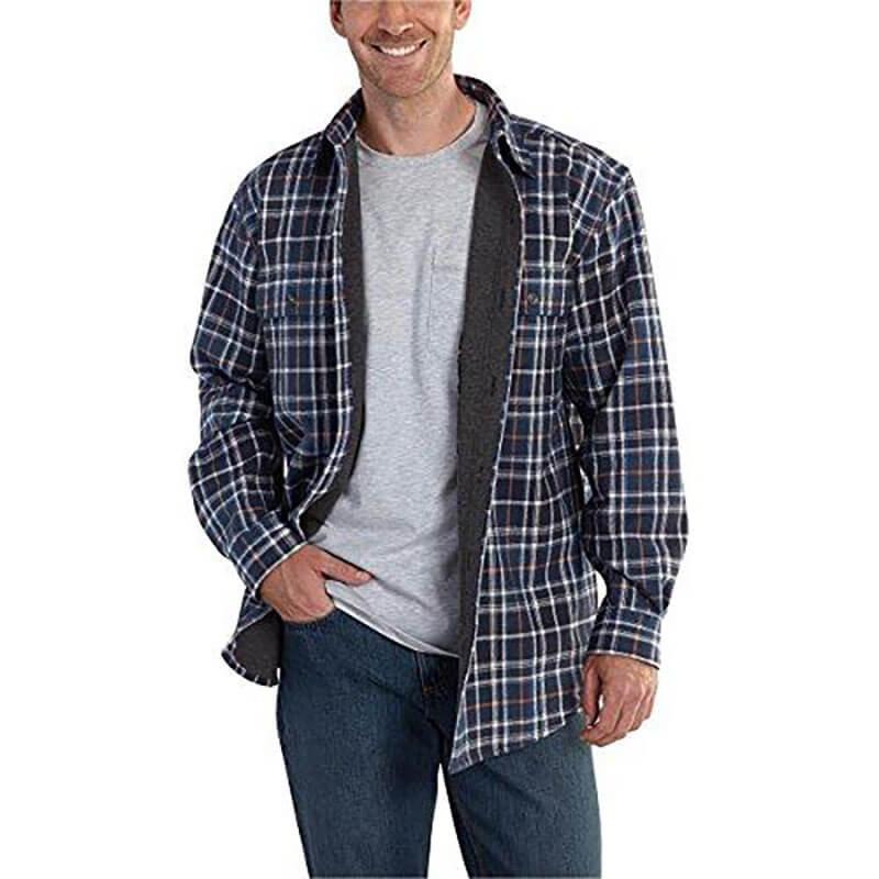 Carhartt Men's Youngstown Flannel Shirt Jac 101464 CLOSEOUT