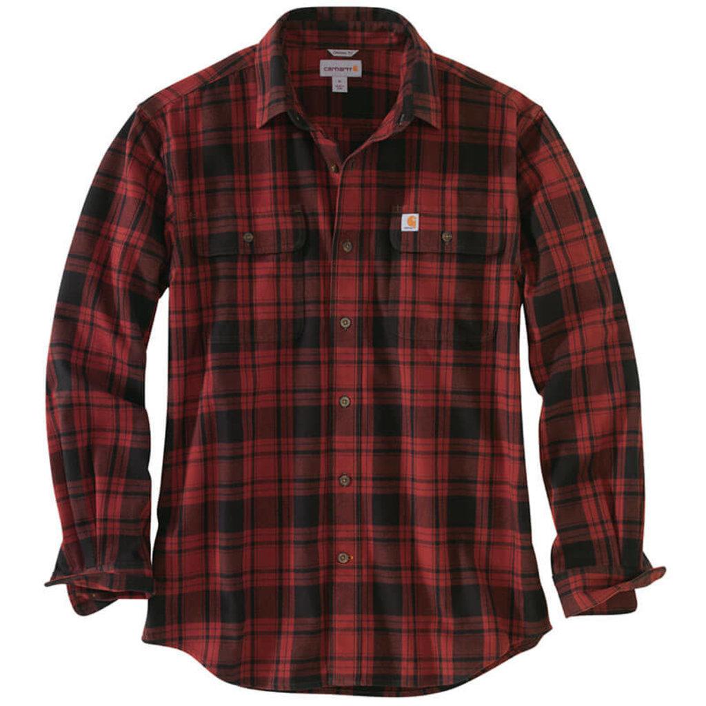 Carhartt Carhartt 103348 - Hubbard Plaid Long Sleeve Shirt- CLOSEOUT