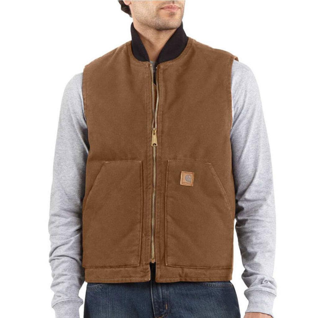 Carhartt Carhartt Men's Duck Vest V02 - CLOSEOUT