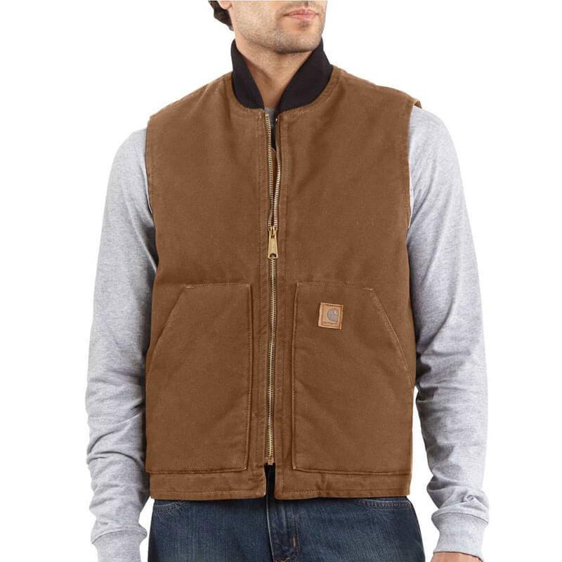 Carhartt Men's Duck Vest V02 - CLOSEOUT