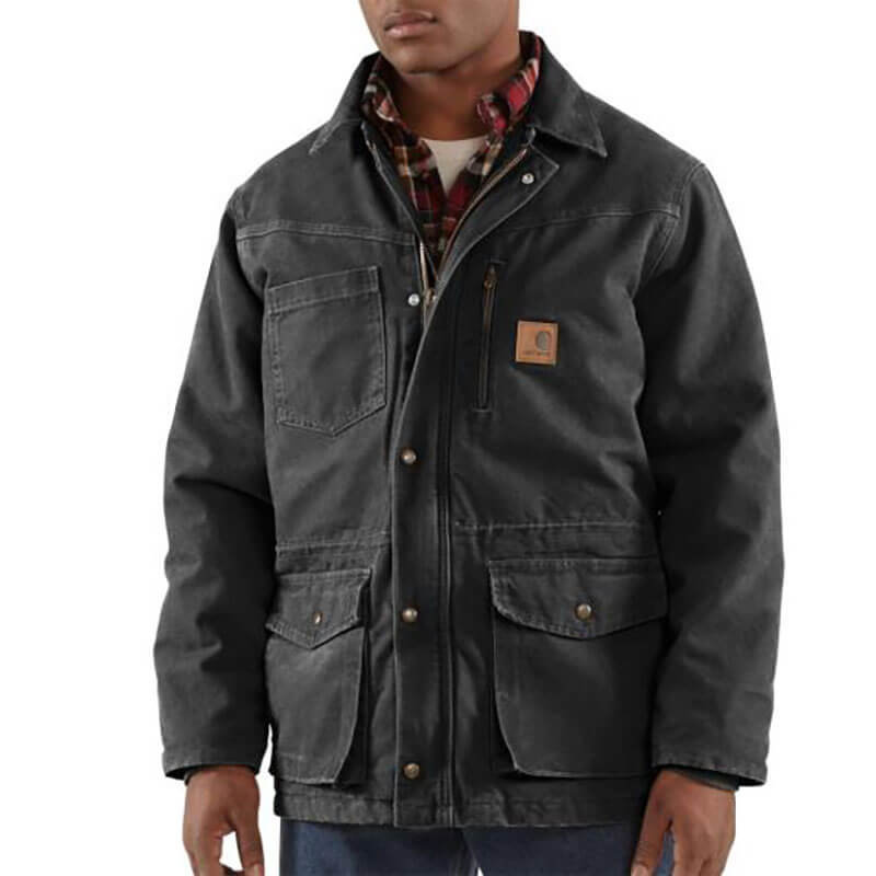 Carhartt Sandstone Rancher Coat - Quilt Lined - 100110 -CLOSEOUT