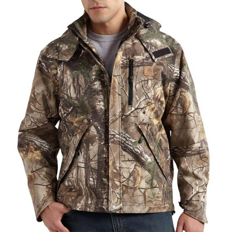 Carhartt Camo Shoreline Jacket - 101090 - CLOSEOUT