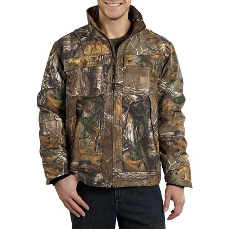 Carhartt Quick Duck® Camo Traditional Jacket Quilt Lined -101444 -CLOSEOUT