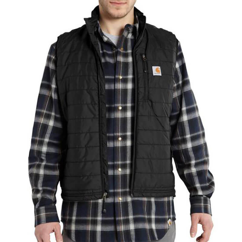 Carhartt Gilliam Nylon Vest - Quilt Lined - 101448 - CLOSEOUT