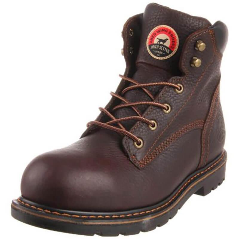 "Irish Setter Men's Farmington 6"" Aluminum-Toe Work Boot 83604"