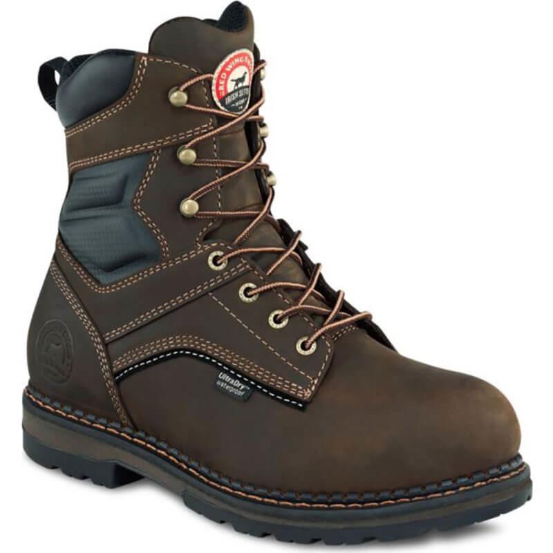 "Irish Setter 83800 8"" Aluminum Toe Work Boot"
