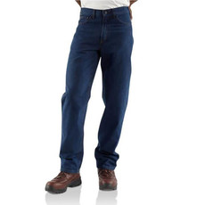 Carhartt Carhartt  Flame-Resistant Straight Leg Relaxed Fit Jean - FRB100 - CLOSEOUT