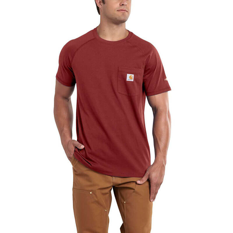 Carhartt 100410 - Force Relaxed Fit Midweight Short-Sleeve Pocket T-Shirt-CLOSEOUT