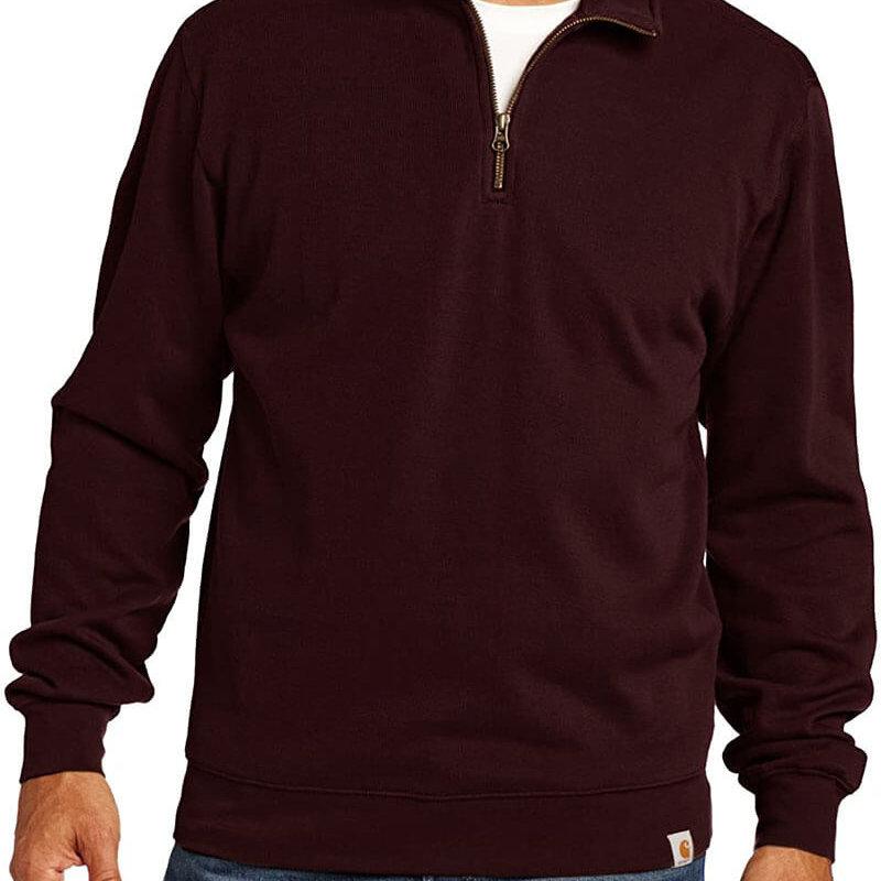 Carhartt Long Sleeve Quarter Zip Sweater Knit -100007 - CLOSEOUT