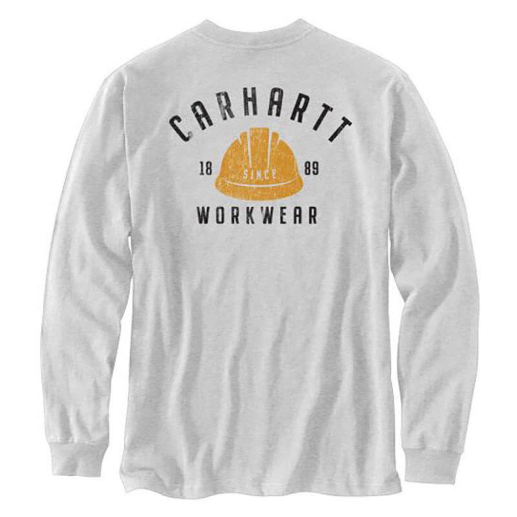 Carhartt Carhartt Men's Relaxed Fit Midweight Long Sleeve Logo Graphic T-Shirt -104535 - CLOSEOUT