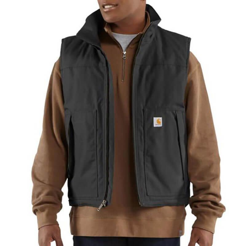 Carhartt Men's Quick Duck Jefferson Vest - 101494 - CLOSEOUT