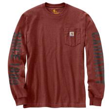 Carhartt Carhartt Men's Workwear Double Sleeve Graphic Long Sleeve T-Shirt -  103845 - CLOSEOUT