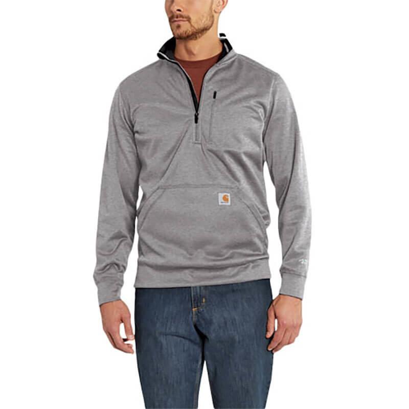 Carhartt Carhartt  Force Extremes™ Mock Neck Half-Zip Sweatshirt - 102831  - CLOSEOUT