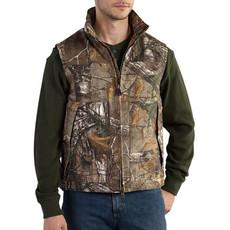Carhartt Carhartt Quick Duck® Camo Vest  Quilt Lined 101686 - CLOSEOUT