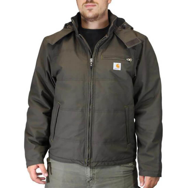 Carhartt Livingston Quick Duck® Jacket Fleece Lined 101441 - CLOSEOUT