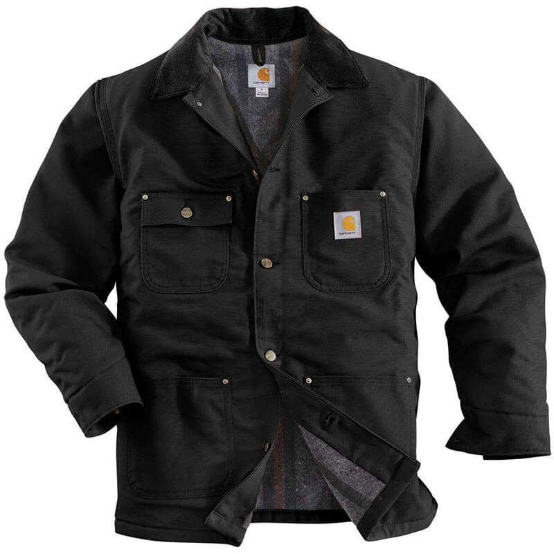 Carhartt Men's Duck Chore Coat - C001 -CLOSEOUT