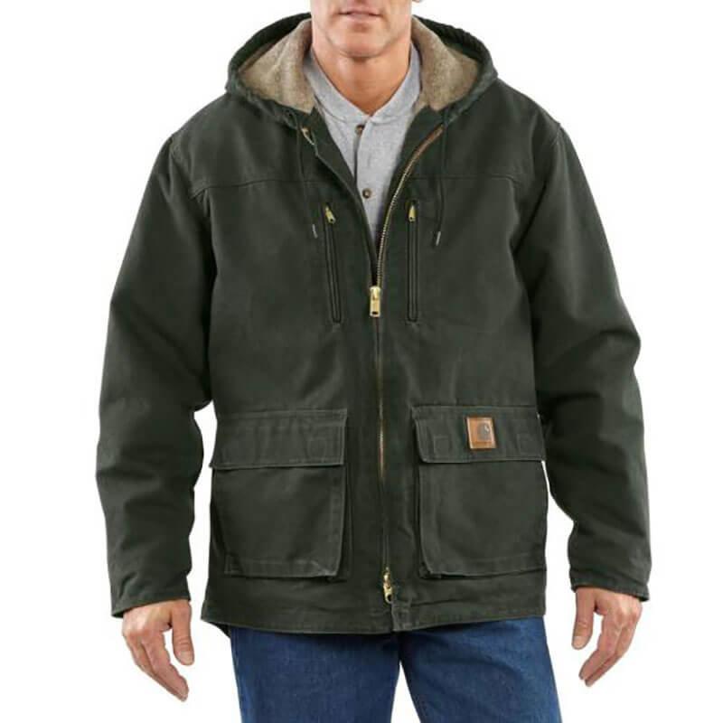 Carhartt Sandstone Jackson Coat - C95 - CLOSEOUT