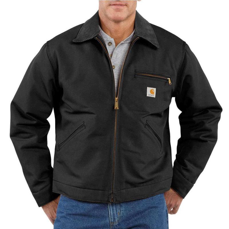 Carhartt Men's Duck Detroit Jacket- J001 - CLOSEOUT