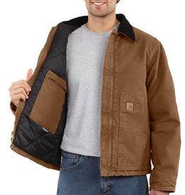 Carhartt Carhartt Sandstone Arctic Quilt Lined Moss Duck Jacket - j22 - CLOSEOUT