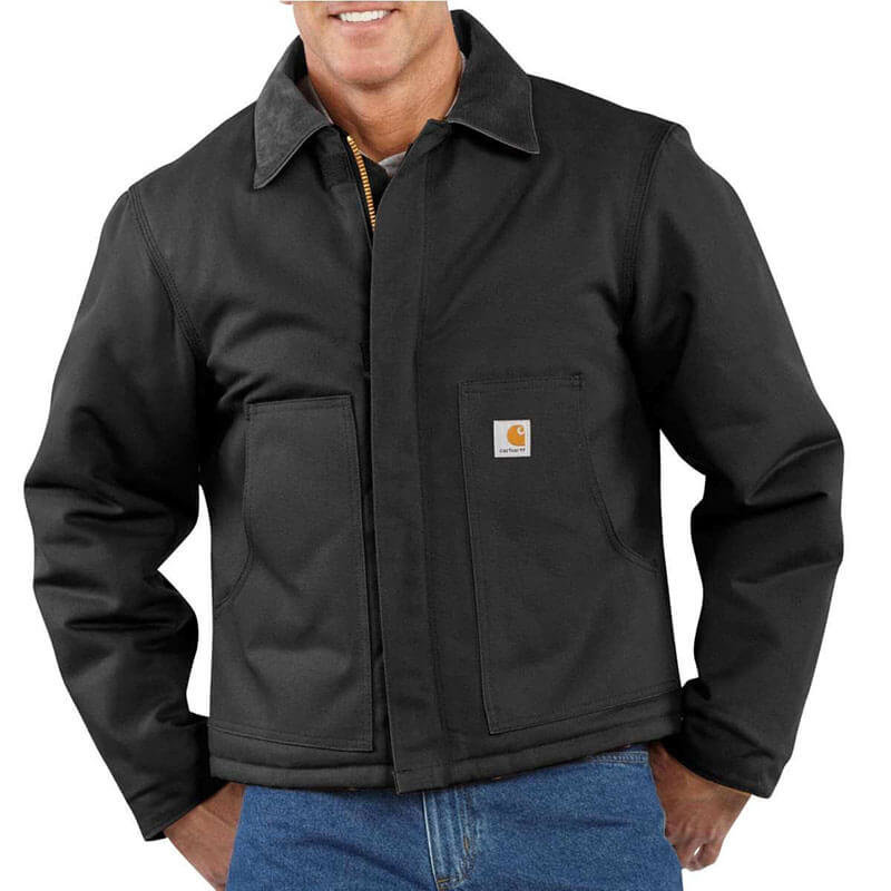 Carhartt Men's Arctic Quilt Lined Duck Traditional Jacket- J002- CLOSEOUT