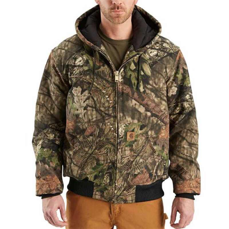 Carhartt Carhartt Men's Quilted Flannel Lined Camo Active Jac- J221- CLOSEOUT